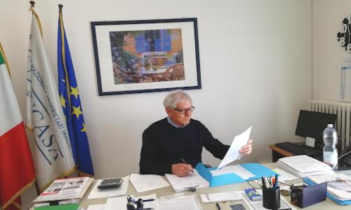 Marco Minarelli, Presidente di Unioncasa Bologna, Associazione di proprietari immobiliari
